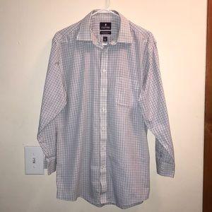 Stafford Long Sleeve Button down Shirt